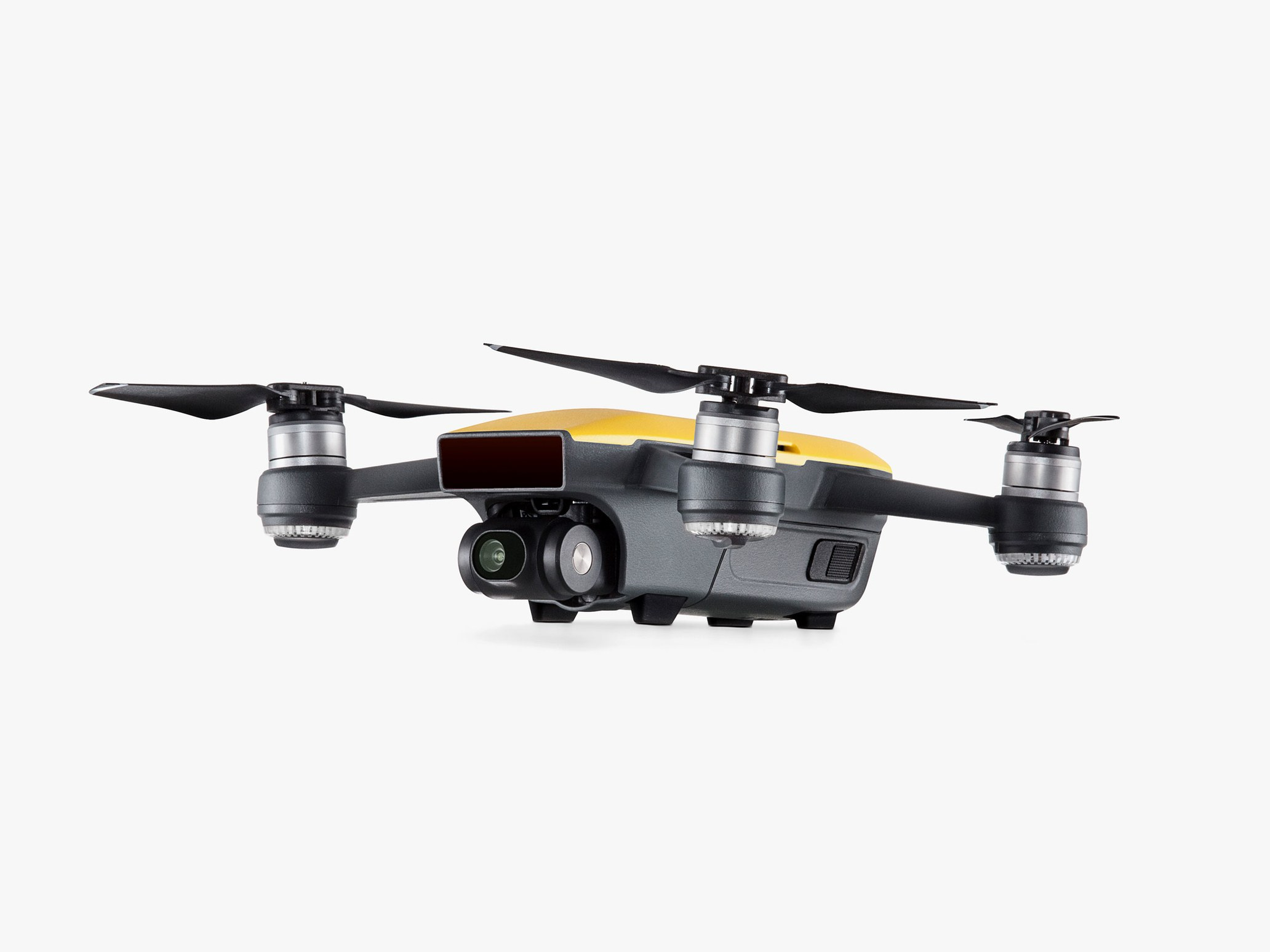 DJI Spark in yellow
