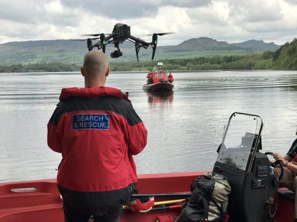 rescue drone usage with watersafe UK