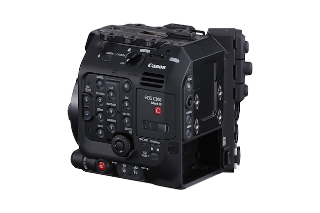 Canon C300 Mark III body