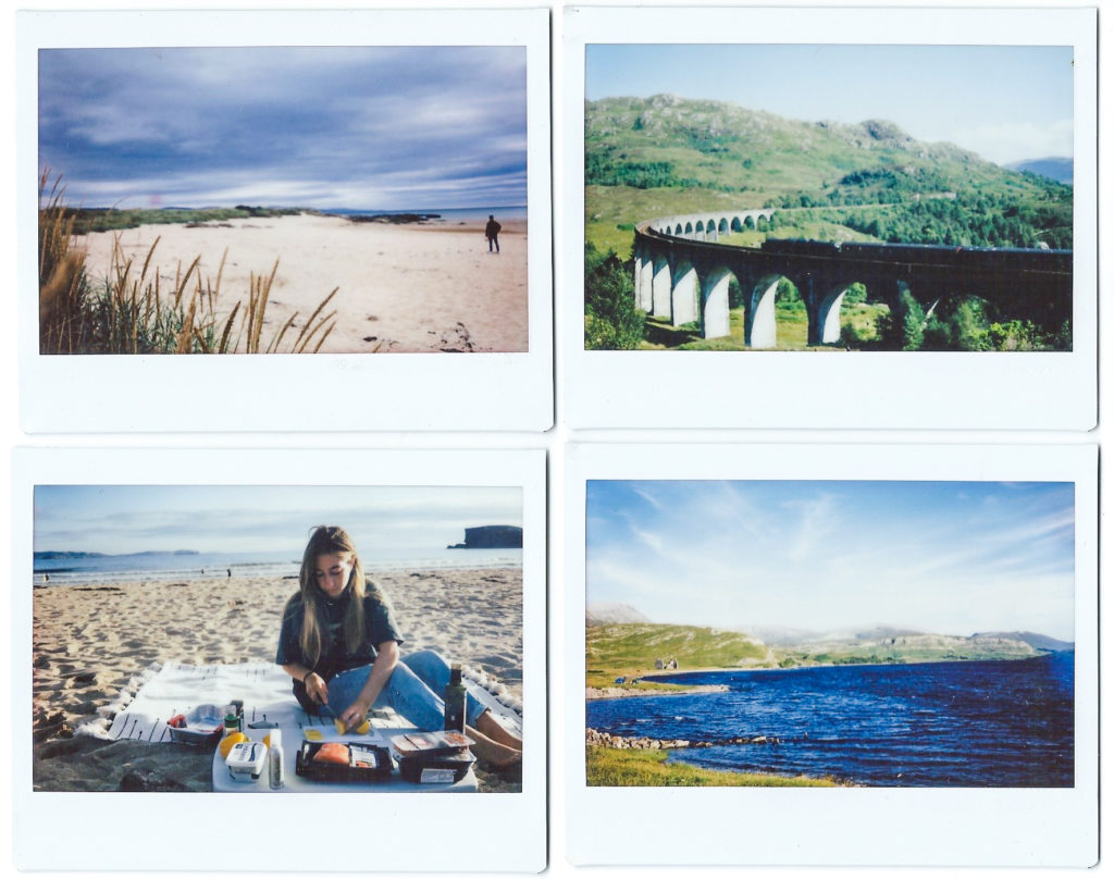Polaroids from NC500 (alicesuttonphotography)