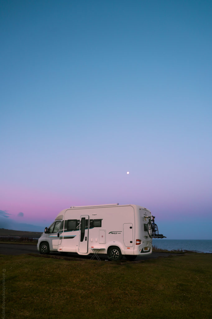 Vanlife on NC500 alicesuttonphotography