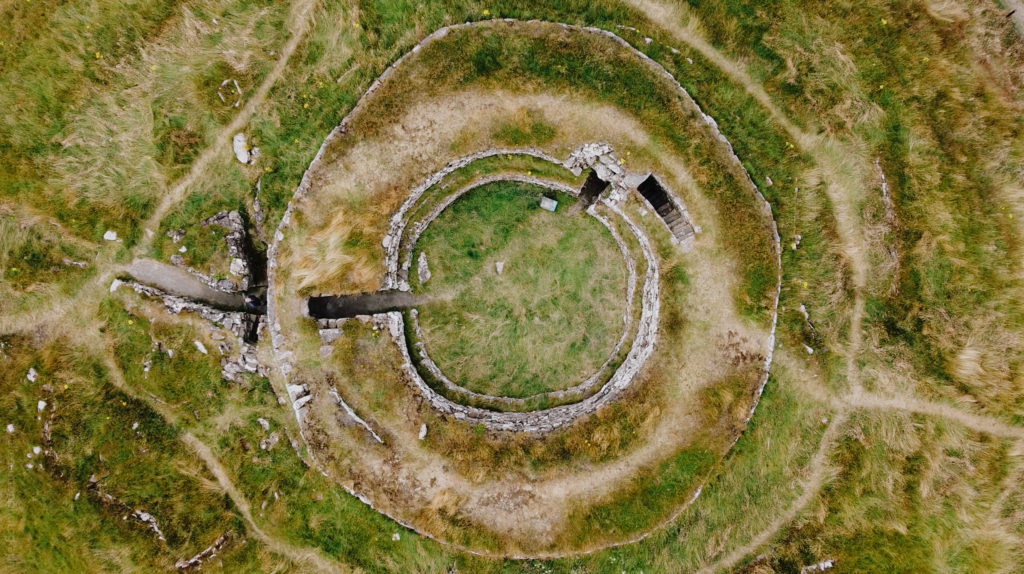 Drone shot of Cairn Liath on NC500 (alicesuttonphotography)