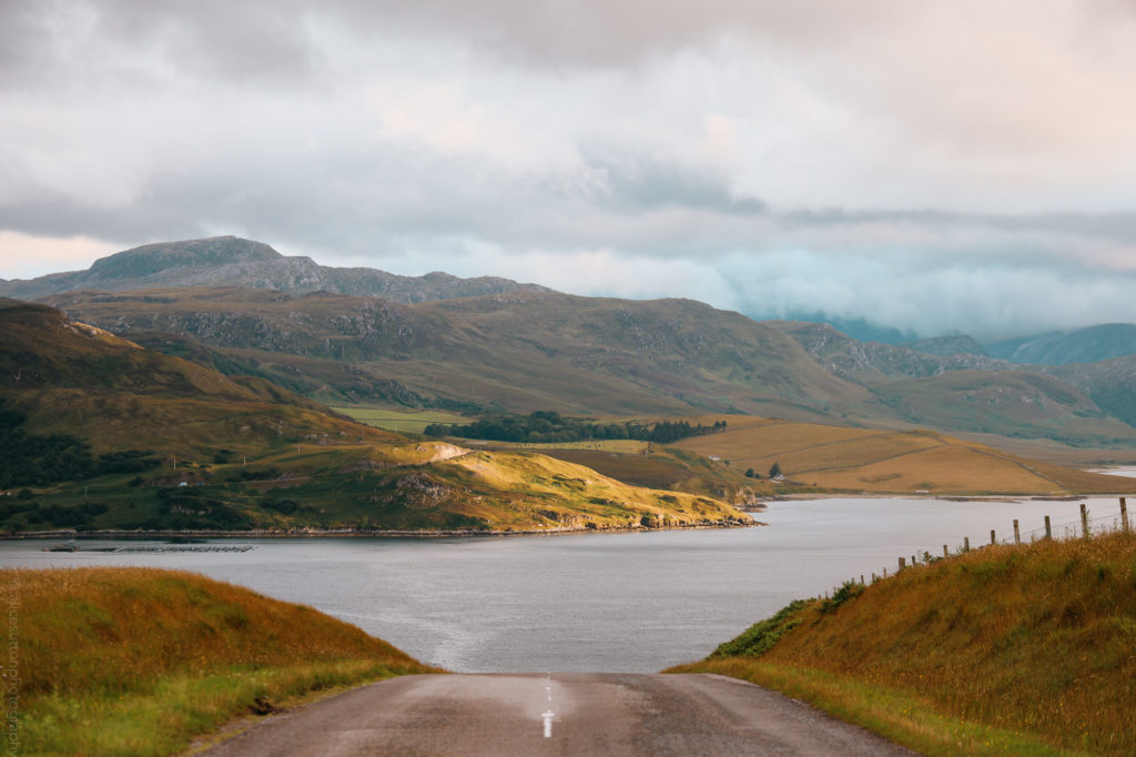 Kyle of Tongue Bridge on NC500 (alicesuttonphotography)