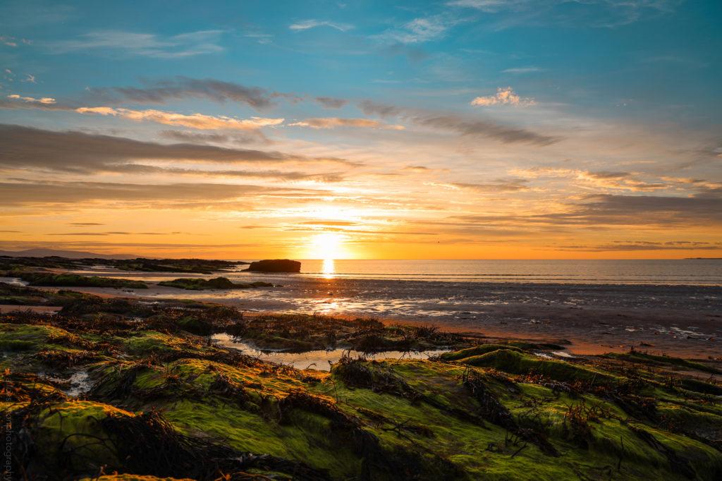 Sunrise at Dornoch beach on NC500 (alicesuttonphotography)